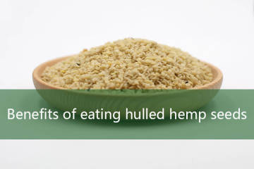 Benefits of eating hulled hemp seeds