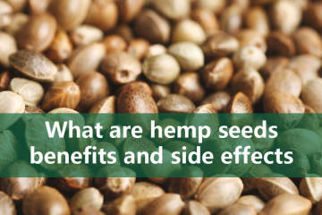 hemp seeds benefits and side effects