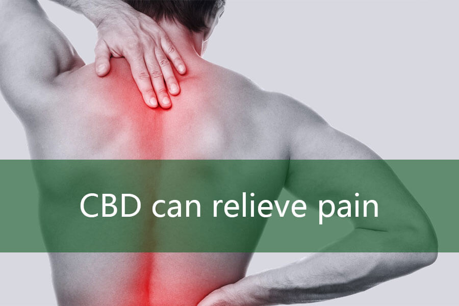 CBD can relieve pain