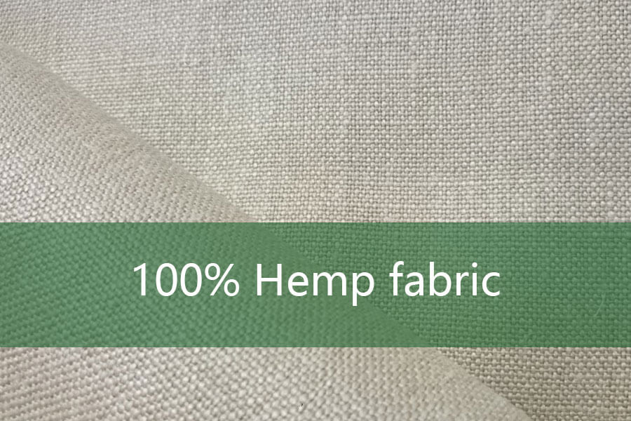 100% Hemp fabric
